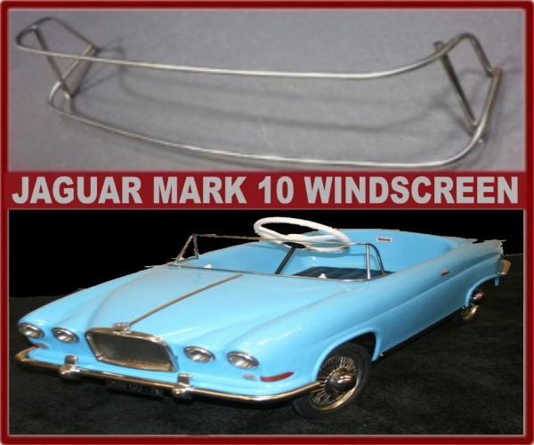Tri-ang Jaguar MK10 Pedal car windscreen