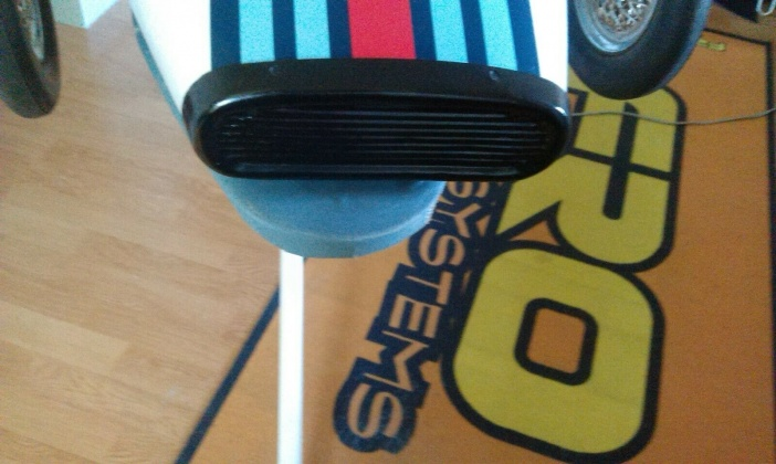 Tri-ang Vintage Grand Prix Racer Pedal Car Black Plastic Nose Cone