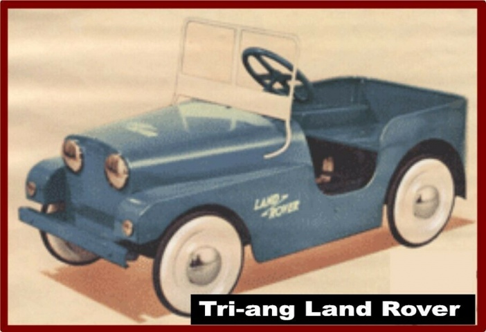 Tri-ang Vintage Land Rover Set of Graphics