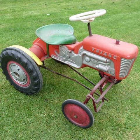 Tri-ang Pedal Tractor used rear wheel